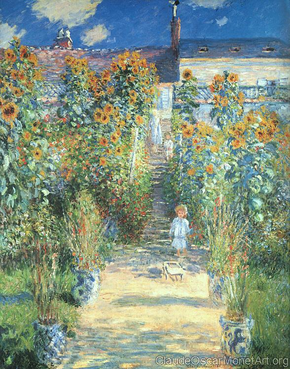 The Artist's Garden at Vetheuil