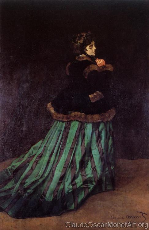 Camille, The Woman in a Green Dress