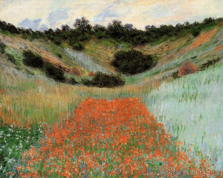 Poppy Field in a Hollow near Giverny II