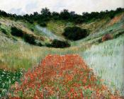 Poppy Field In A Hollow Near Giverny
