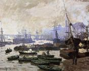 Boats in the Port of London