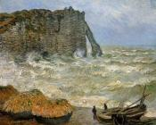 Etretat, Rough Seas