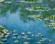 Claude Oscar Monet : Water Lilies XV
